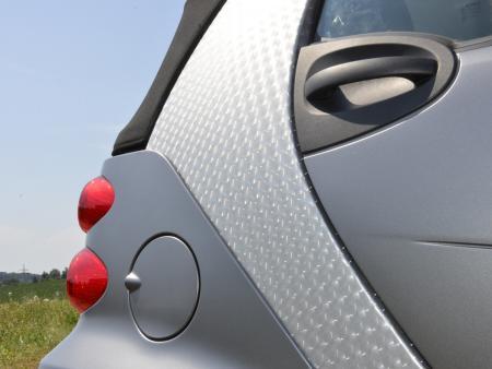Auto Folie 3D transparent selbstklebend 1 Rolle = 0,5m x 2m