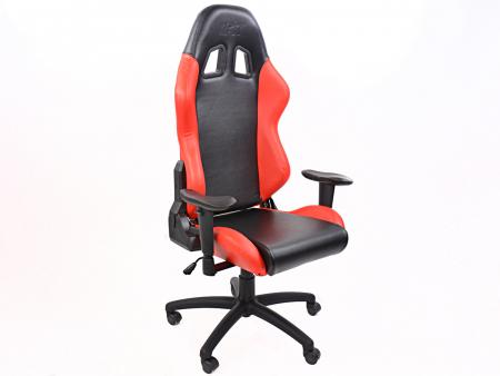 Palette 5x FK Gamingstuhl eGame Seats eSports Spielsitz Liverpool schwarz/rot
