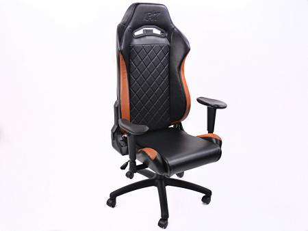FK Gamingstuhl eGame Seats eSports Spielsitz London schwarz/braun