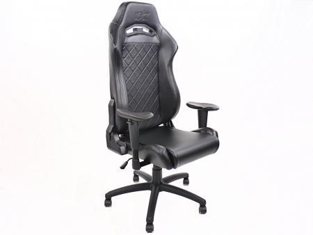 sedia da ufficio FK sedia per giochi elettronici Liverpool nero sedia girevole