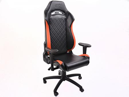 FK Gamingstuhl eGame Seats eSports Spielsitz London schwarz/orange