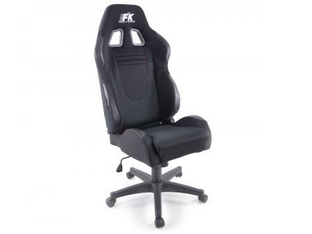 Palette 3x FK Sportsitz Bürodrehstuhl Racecar schwarz Chefsessel Drehstuhl Bürostuhl