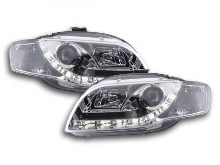 Chrome FK Automotive Daylight Headlights Daytime Running Light