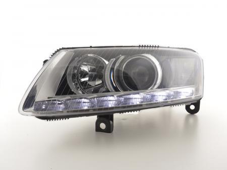Scheinwerfer Daylight Xenon mit LED Standlicht Audi A6 (4F) Bj. 04-08 chrom