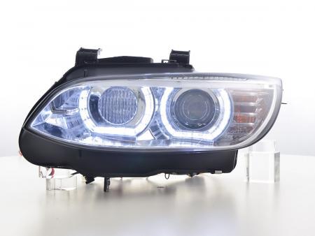 Scheinwerfer Xenon Daylight LED Tagfahrlicht BMW 3er E92/E93 Bj. 06-10 chrom
