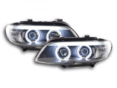 faro Daylight CCFL xeno BMW X5 E53 anno di costr. 03-06 nero
