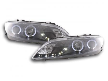 Scheinwerfer Set Daylight LED TFL-Optik Mazda 6 Limousine Bj. 02-07 schwarz