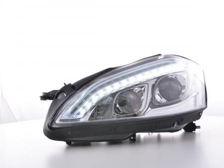 Scheinwerfer Daylight LED TFL-Optik Mercedes-Benz S-Klasse (221) Bj. 05-09 chrom