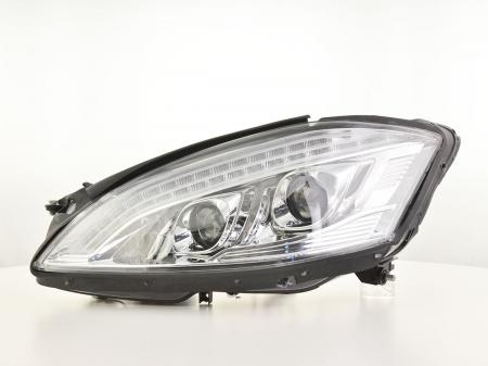 Scheinwerfer Xenon gebraucht Daylight LED TFL-Optik  Mercedes-Benz S-Klasse W221 Bj. 05-09 chrom