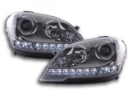 Scheinwerfer Daylight Mercedes ML-Klasse 164 Bj. 08-11 chrom