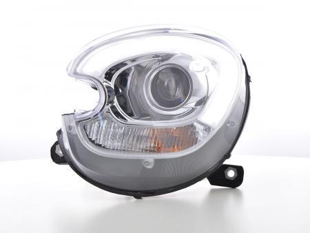 Scheinwerfer Set Xenon Daylight LED TFL-Optik Mini Countryman (R60) Bj. 10-17 chrom