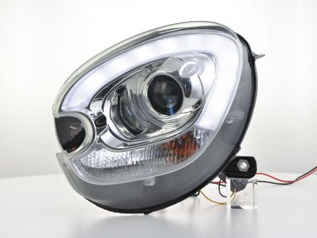 Scheinwerfer Set Daylight LED TFL-Optik Mini Countryman R60 Bj. 10-17 chrom