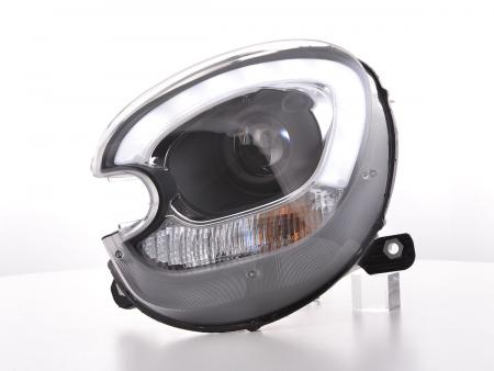 Scheinwerfer Set Xenon Daylight LED TFL-Optik Mini Countryman R60 Bj. 10-17 schwarz
