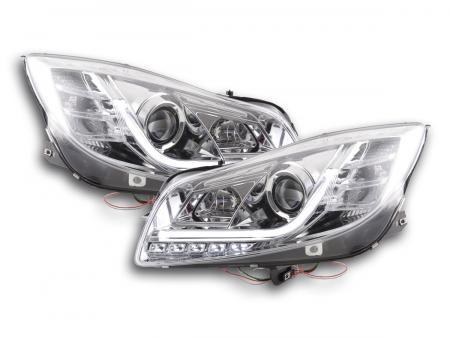 Scheinwerfer Set Daylight LED Tagfahrlicht Opel Insignia Bj. ab 2008 chrom