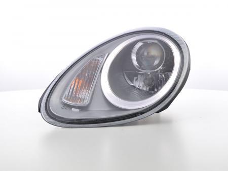 Scheinwerfer Set Daylight LED TFL-Optik Porsche Boxster (987) Bj. 04-08 silber