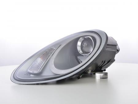 LED Tagfahrlicht Optik Scheinwerfer Set Xenon Porsche Boxster 987 Bj. 04-08 silber