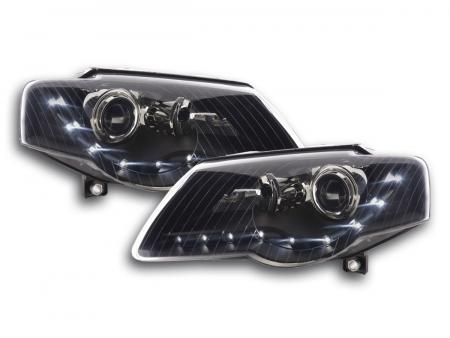 Scheinwerfer Daylight VW Passat Typ 3C Bj. 05- schwarz