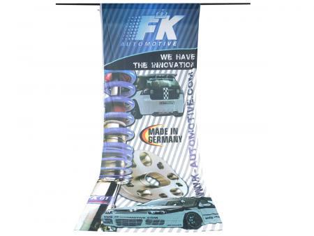 Fahne FK - 150 x 400 cm