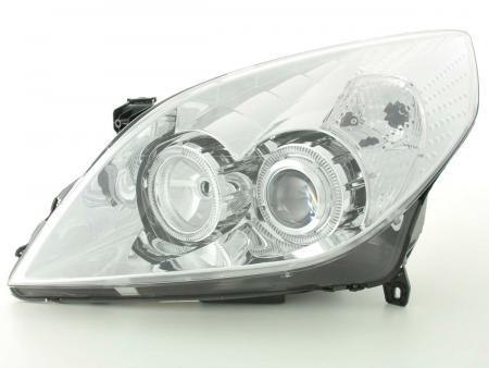 Scheinwerfer gebraucht Angel Eyes Opel Vectra C Bj. 05-08 chrom