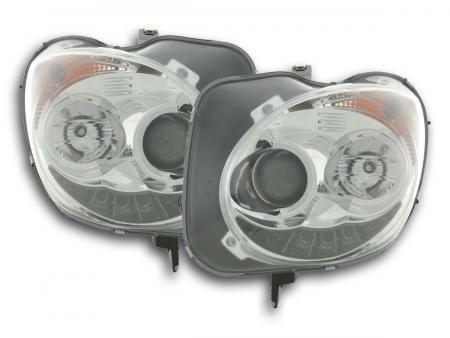 Scheinwerfer Set Daylight LED Tagfahrlicht Alfa Romeo Mito Bj. 08- chrom