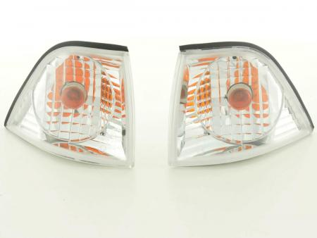Frontblinker Blinker Set BMW 3er Coupe/Cabrio Typ E36 Bj. 91-98 chrom