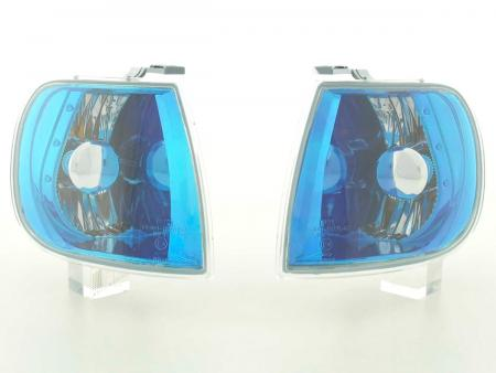 Front indicator Set VW Polo Typ 6N Yr. 95-98 blue chrome