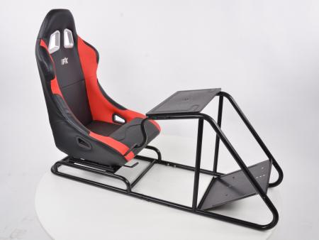 FK Gamesitz Spielsitz Rennsimulator eGaming Seats Estoril schwarz/rot