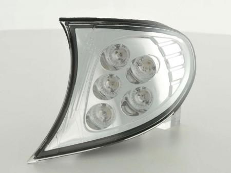 Frontblinker LED fit for BMW 3er E46 Limousine Bj. 01-05, chrom