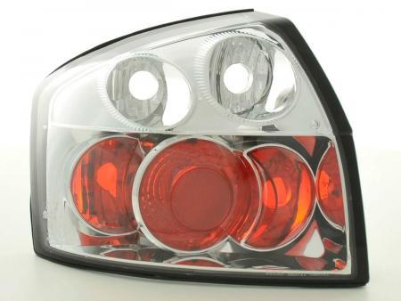 Rückleuchten Heckleuchten Set Audi A4 Limo Typ 8E 01-04 chrom