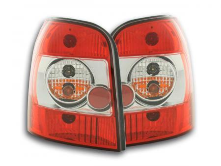 Rückleuchten Heckleuchten Set Audi A4 Avant Typ B5  95-00 rot/weiß