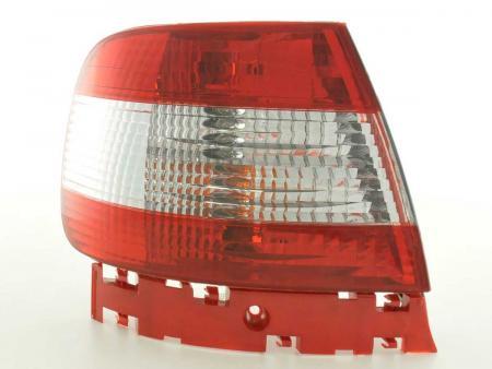 Rückleuchten Heckleuchten Set Audi A4 Limo Typ B5 95-00 rot/weiß