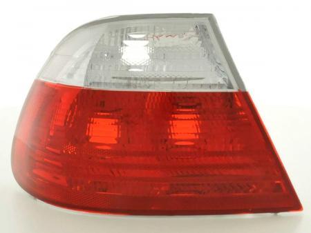 Rückleuchten BMW 3er Coupe Typ E46 Bj. 99-02 weiß rot