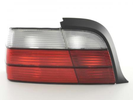 Rückleuchten Set BMW 3er Coupe Typ E36 Bj. 91-98 rot/weiß