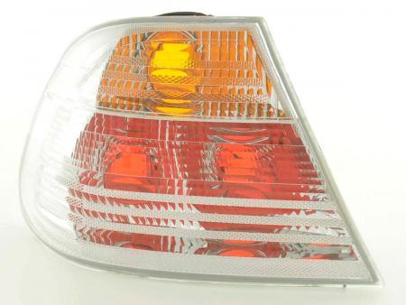 Rückleuchten Set gebraucht Heckleuchten BMW 3er Coupe Typ E46 Bj. 99-02 weiß
