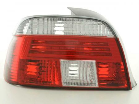 Rückleuchten Set BMW 5er Limo Typ E39 Bj. 95-00 rot/weiß