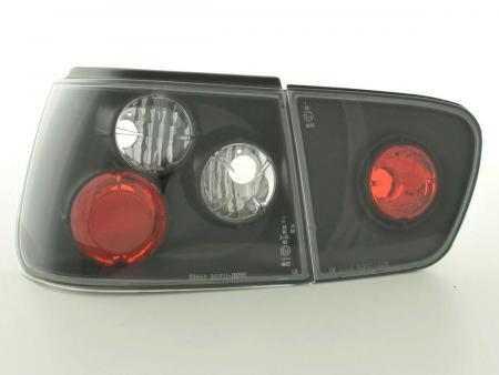 Rückleuchten Heckleuchten Seat Ibiza Typ 6K Bj. 97-02 schwarz