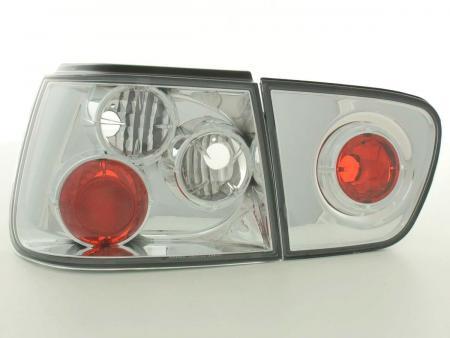 Rückleuchten Heckleuchten Seat Ibiza Typ 6K Bj. 99-02 chrom