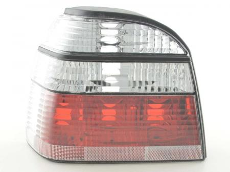 Rückleuchten Heckleuchten Set VW Golf 3 Typ 1HXO   92-97 klar
