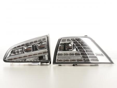 LED Rückleuchten Set VW Golf 7 ab Bj. 2012 chrom
