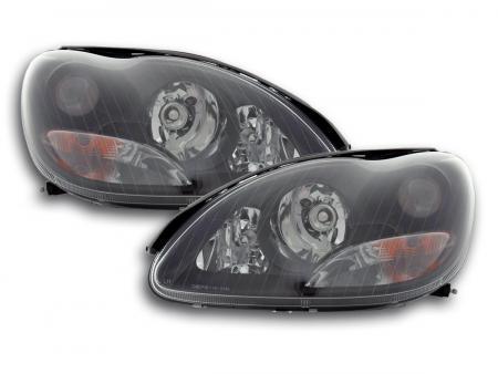 Scheinwerfer Mercedes Benz S-Klasse W220 Bj. 98-01 schwarz