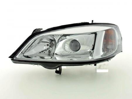 Scheinwerfer Opel Astra G Bj. 98-03 chrom