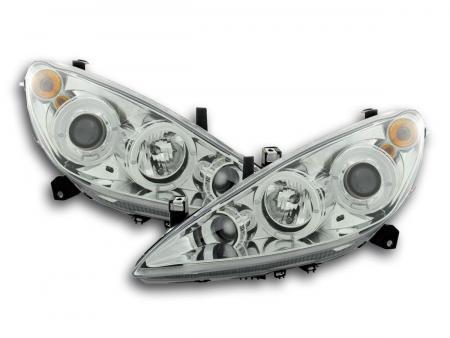 Scheinwerfer Set Peugeot 307 Bj. 01-06 chrom