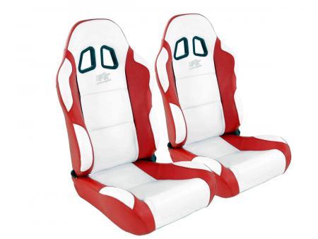 FK Sportsitze Auto Halbschalensitze Set Miami in Motorsport-Optik