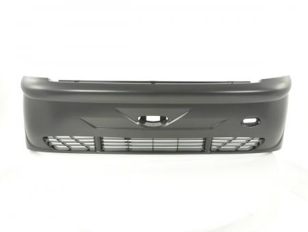Sportstoßstange hinten 3x Heckschürze RACELOOK aus ABS Peugeot 206 Bj. 98-06