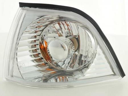 indicatori di direzione anteriori coppia BMW serie 3 Coupe/Cabrio tipo E36 anno di costruzione 91-98 cromato