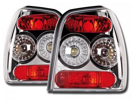 Rückleuchten Heckleuchten Set VW Polo Typ 6N2 97-01 chrom