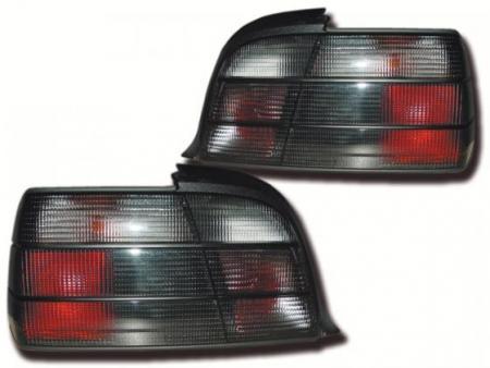 Rückleuchten BMW 3er Coupe Typ E36 Bj. 91-98 schwarz