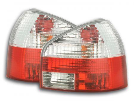 Rückleuchten Heckleuchten Set Audi A3 Typ 8L  96-02 rot/weiß
