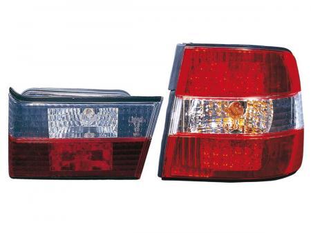 LED Rückleuchten Set  BMW 5er E34 Limousine rot/klar