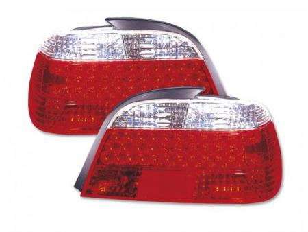 Led Rückleuchten Heckleuchten Set BMW 7er Typ E38 Bj. 94-98 klar/rot